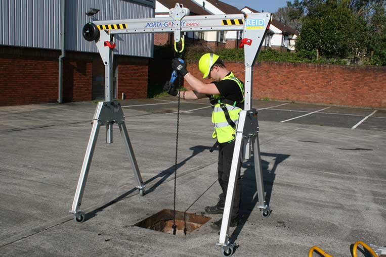 Shear Legs, A-Frames & Gantries | Ashfield Safety Hire