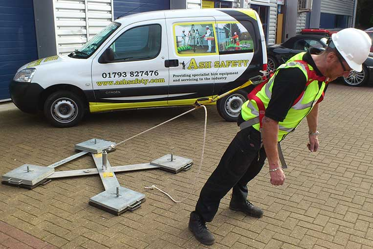 Mobile Anchors Ashfield Safety Hire