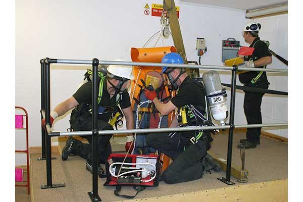 6150-05 Emergency Rescue Confined Space Training | Ashfield